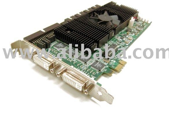 16-CH, H.264, PCIe DVR Video Hardware Compression Card