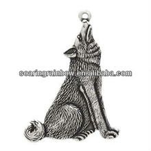 wolf pendants charms