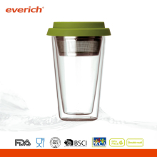 300ml Double Wall Drink Glass Tumbler /Glass