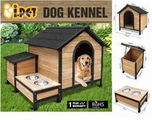 Outdoor Garden Dog House, Big Size Waterproof Cedarwood Dog House