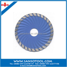 sharp and satisfied lifespan diamond wet or dry saw blade used for cutting granite/marble/ceramic tiles