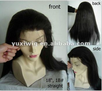 unique quality malaysian silk top full lace wigs