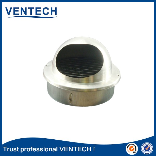 Stainless steel SS201 ball weather louver-VENTECH