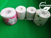 virgin pulp/recycled pulp with FDA certification Customized logo printed toilet paper