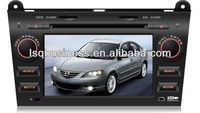 lsqstar 7 inch Car audio For old MAZDA3 with 6vcdc,gps navigation...