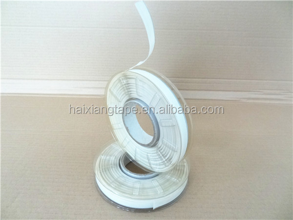 Hot melt adhesive stainless steel oil gauging tape