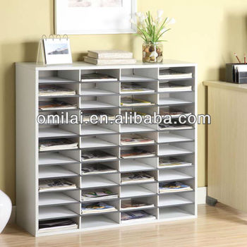 MDF office book cabinet