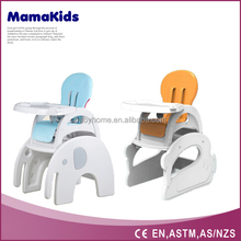 3-in-1 baby tables and chairs EN standing Baby highchair height adjustable