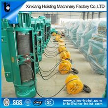 High Speed Well Electric Hoist With Imported Electrical Part