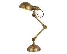 Room Usage and Brass Material bedroom solid brass table lamp