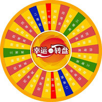 Wheel of Fortune\Lucky Turntable( for lottery\promotion activities)kids diy crafts paper plane model