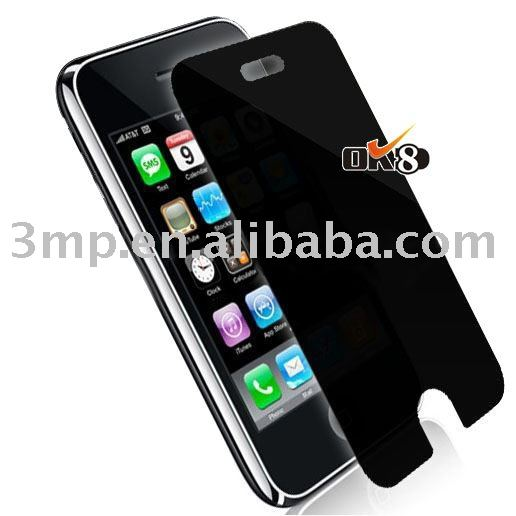 Privacy screen protector/ for iPhone 4G