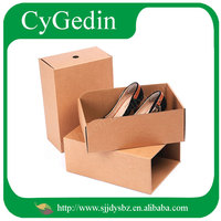 Customized Kraft paper shoe packaging boxes