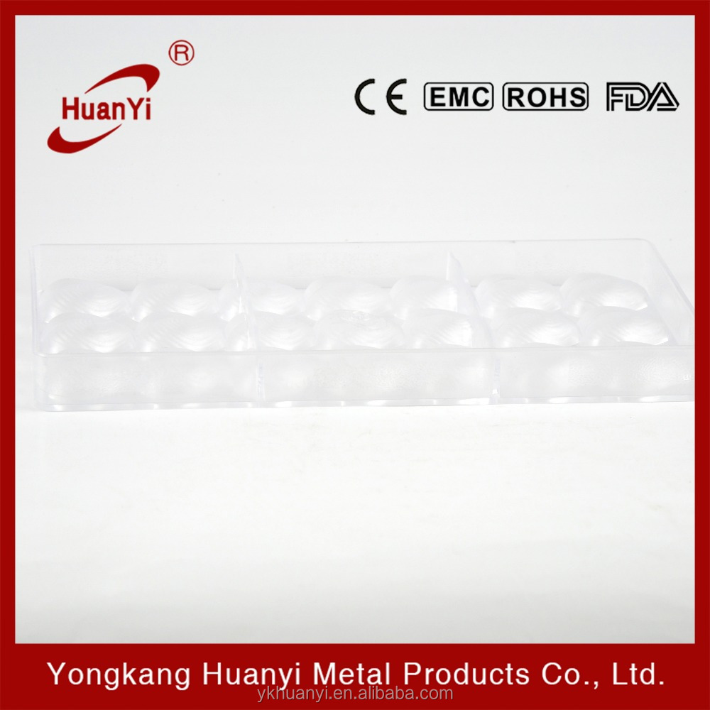 Wholesale OEM PE plastic chocolate mold (HY520)