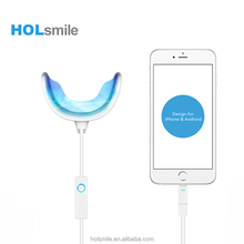 25 minutes countdown teeth whitening system