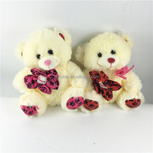 Hot selling cheap valentine gift plush stuffed valentine bears wholesale
