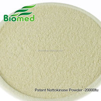100% Natural Natto Powder /Nattokinase/Nttokinase enzymes Powder