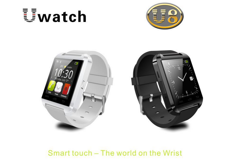 Bluetooth Smartwatch U8 U for iPhone 4/4S/5/5S Samsung S4/S5/Note 2/Note 3 smartwatch latest wrist watch mobile phone