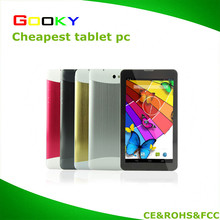 "Cheapest 7"" Android Tablet pc build in 3G GPS tablet factory"