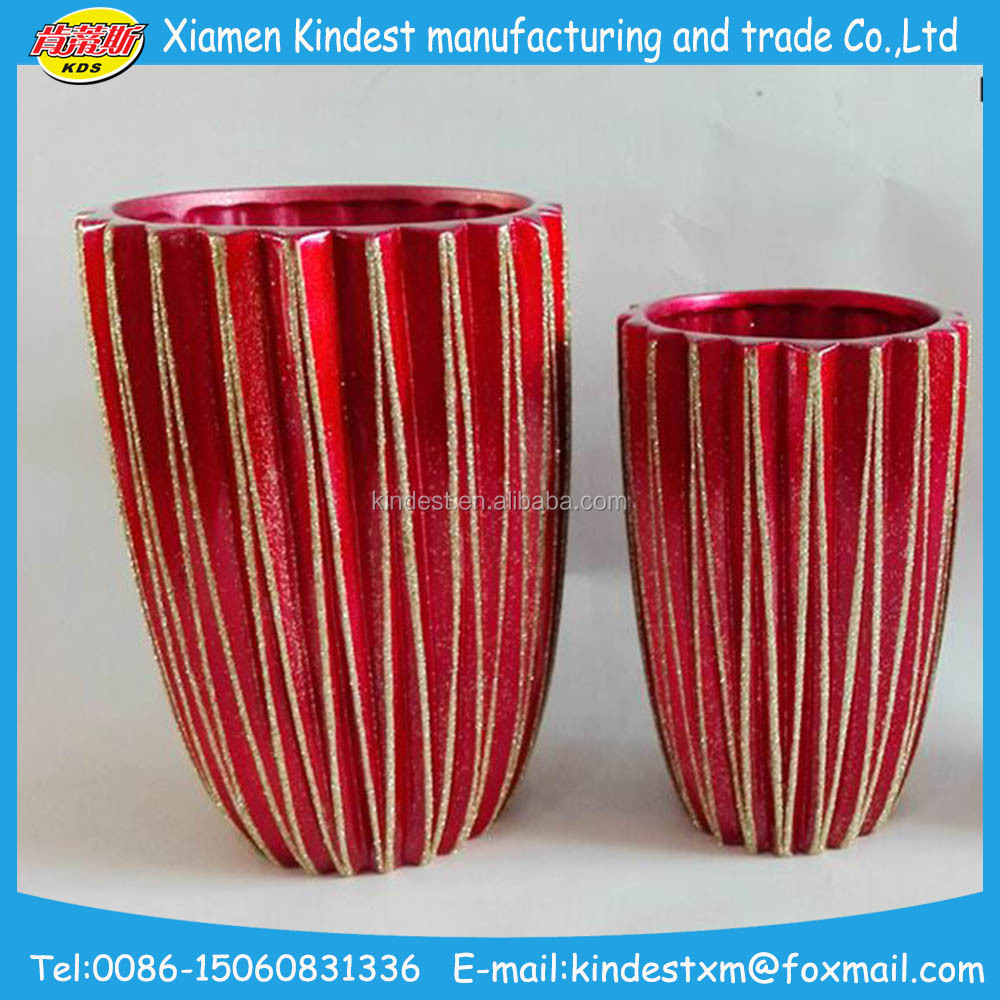 Christmas cheap ceramic flower pots and planter with red for 6 ceramic flower pots