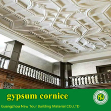 excellent plaster material decoration hotel gypsum cornice