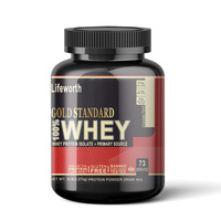 Lifeworth chocolate flavor soy & whey protein isolate
