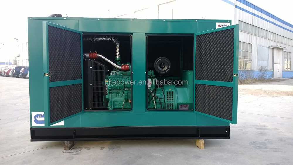 China Brand 50 kw diesel Generator 50 kw Silent Self Powered Electric Generators