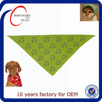 2015 New Fashion custom printed bandanas for dog