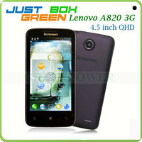 Best Gift! Lenovo A820 Smart Cell phone Quad-core 4.5 inch IPS Screen 1GB RAM Android 4.1 OS Dual sim card Standby Dark purple.