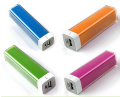 LED light super thin mobile power, free logo printing power bank mobile charger