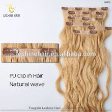 Contact Supplier Chat Now! Full head Set 18inch Clip In Human Hair Extension, Indian Remy wholesale 200g single