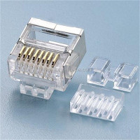 PJK CAT7 RJ45 shielded modular plugs