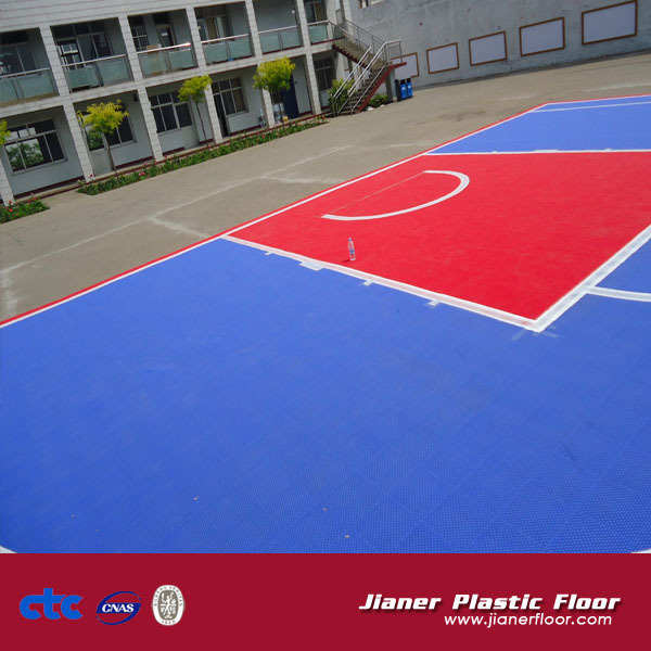 Jianer Plastic Flooring Basketball Flooring