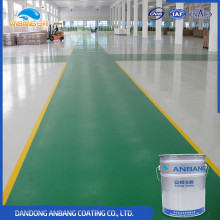 AB-DP-300Z factory concrete ground self leveling thick epoxy floor coatings