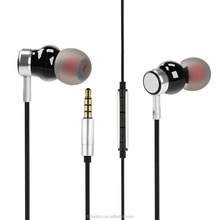 Wholesale Earbuds Black In Ear Headphones Comfort Earbuds With Balance Armature Technology for Deep Bass and Hifi Sound