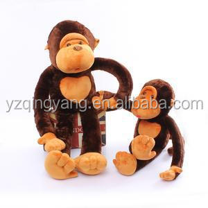 different size customized stuffed animal soft plush monkey toy