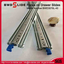 BWD3076L-40 Full extension ball bearing diy drawer slides