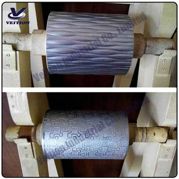 leather embossing roller with good quality