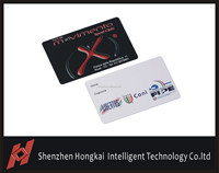 UHF proximity card for plastic business card