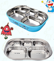 BPA FREE food grade 304 stainless steelinsulated 5 compartment kids food container