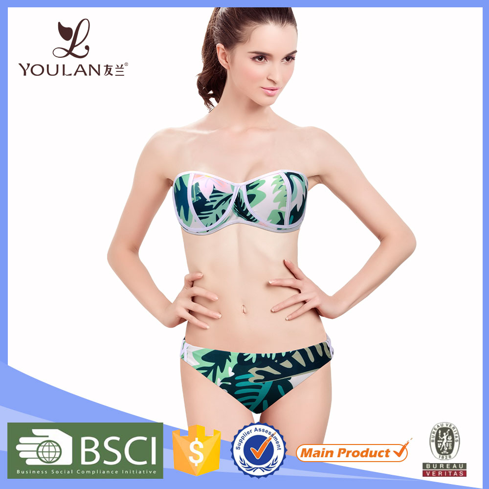 new 2017 fashion children swimwear latest sexy girls sling bikini