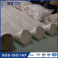 aramide filter bag ptfe coating, low emission filter bag