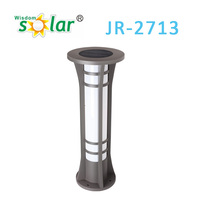 wholesale solar lights stainless steel lawn light, solar light garden, led solar garden light (JR-2713)