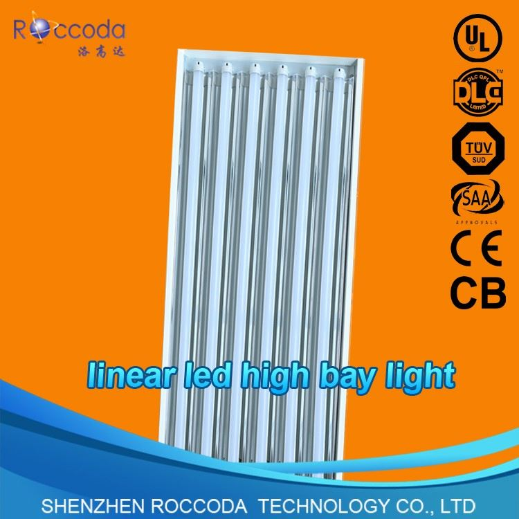 Factory directly t8 18w embeded linear fluorescent louver light fixture