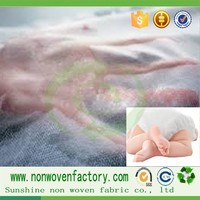 Raw materials for diaper making hydrophilic pp spunbonded fabric non woven