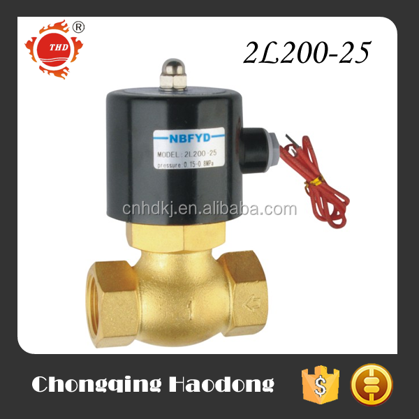 Thermostable natural gas solenoid valve