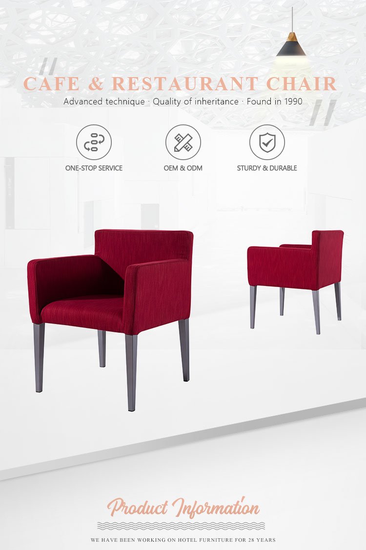 China factory modern living room metal lounge chair upholstered hotel leisure armchairs for sale