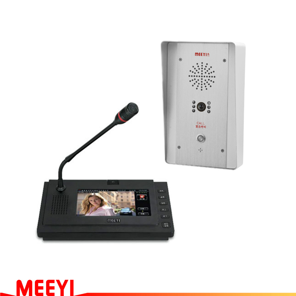 vandal-proof audio intercom system VOIP emergency call button elevator push button intercom IP