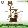 QQPET Factory Direct Price Top Quality Cat Tree House Sisal Cat condo
