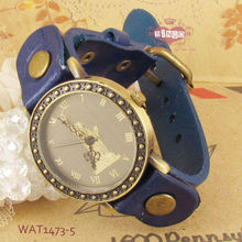 Navy Blue Fashion Watch Roma Face Case